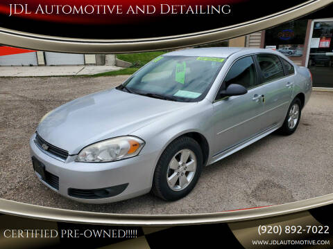 2011 Chevrolet Impala for sale at JDL Automotive and Detailing in Plymouth WI