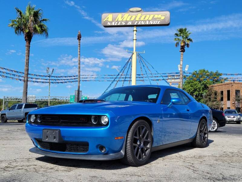 2016 Dodge Challenger for sale at A MOTORS SALES AND FINANCE in San Antonio TX