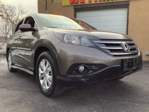 2012 Honda CR-V for sale at Active Auto Sales Inc in Philadelphia PA