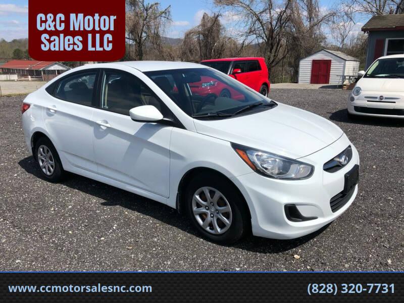 2013 Hyundai Accent for sale at C&C Motor Sales LLC in Hudson NC