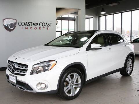 2018 Mercedes-Benz GLA for sale at Coast to Coast Imports in Fishers IN