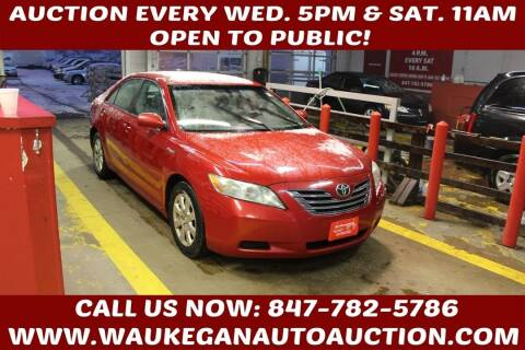 2007 Toyota Camry Hybrid for sale at Waukegan Auto Auction in Waukegan IL