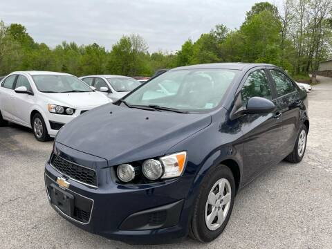 2016 Chevrolet Sonic for sale at Best Buy Auto Sales in Murphysboro IL