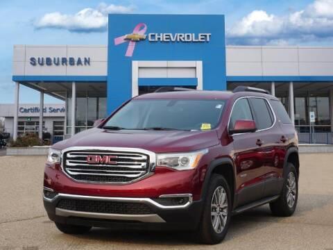 2018 GMC Acadia for sale at Suburban Chevrolet of Ann Arbor in Ann Arbor MI