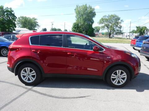 2017 Kia Sportage for sale at Dave's Car Corner in Hartford City IN