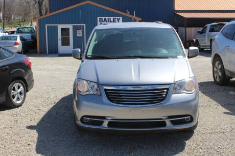 2016 Chrysler Town and Country for sale at Bailey & Sons Motor Co in Lyndon KS