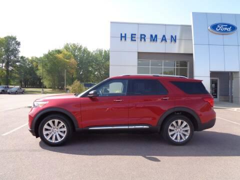 2020 Ford Explorer for sale at Herman Motors in Luverne MN