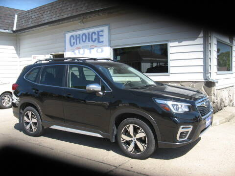 2020 Subaru Forester for sale at Choice Auto in Carroll IA