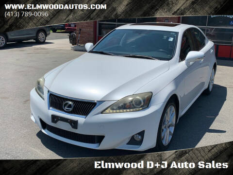 2011 Lexus IS 250 for sale at Elmwood D+J Auto Sales in Agawam MA