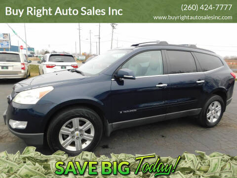 2009 Chevrolet Traverse for sale at Buy Right Auto Sales Inc in Fort Wayne IN