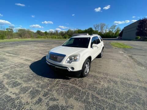 2011 GMC Acadia for sale at Caruzin Motors in Flint MI