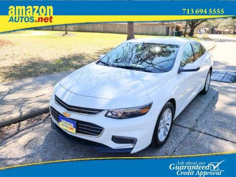 2018 Chevrolet Malibu for sale at Amazon Autos in Houston TX