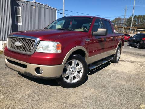 2007 Ford F-150 for sale at Atlas Auto Sales in Smyrna GA