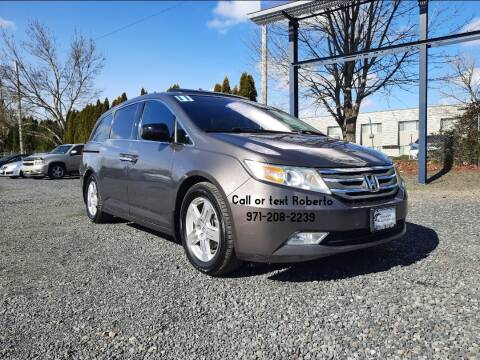 2011 Honda Odyssey for sale at Universal Auto Sales Inc in Salem OR