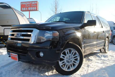 2014 Ford Expedition EL for sale at Frontier Auto & RV Sales in Anchorage AK