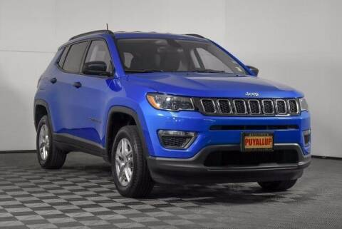 2018 Jeep Compass for sale at Washington Auto Credit in Puyallup WA