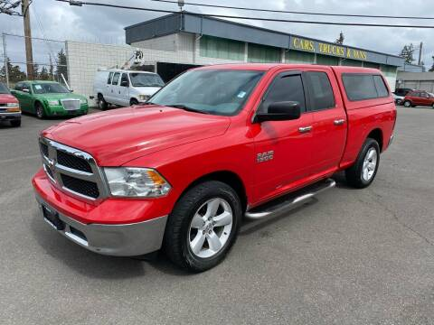 2013 RAM Ram Pickup 1500 for sale at Vista Auto Sales in Lakewood WA