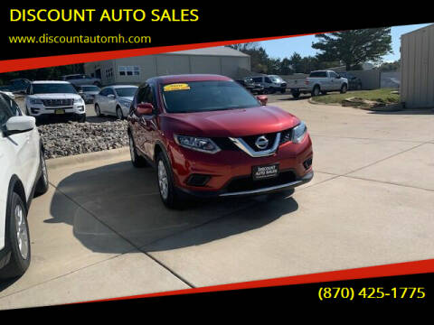 2016 Nissan Rogue for sale at DISCOUNT AUTO SALES in Mountain Home AR