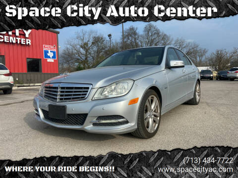 2012 Mercedes-Benz C-Class for sale at Space City Auto Center in Houston TX