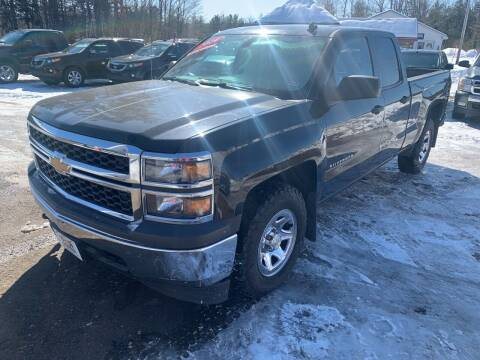 2014 Chevrolet Silverado 1500 for sale at Winner's Circle Auto Sales in Tilton NH