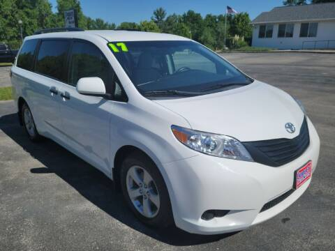 2017 Toyota Sienna for sale at Cooley Auto Sales in North Liberty IA