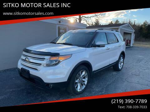 2013 Ford Explorer for sale at SITKO MOTOR SALES INC in Cedar Lake IN