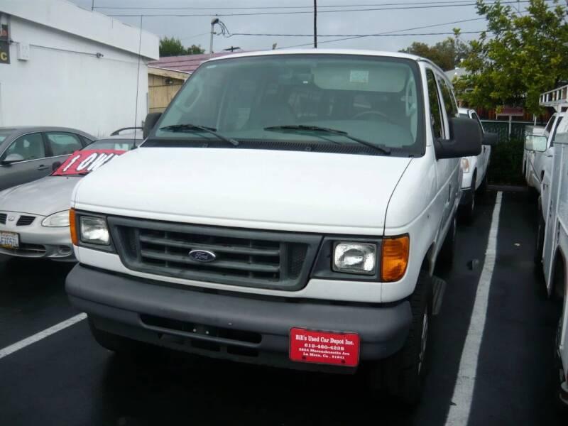 2006 Ford E-Series Wagon for sale at Bill's Used Car Depot Inc in La Mesa CA