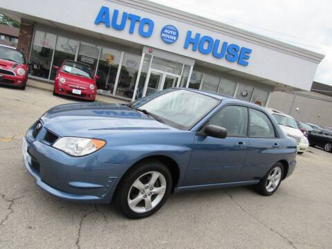 2007 Subaru Impreza for sale at Auto House Motors in Downers Grove IL