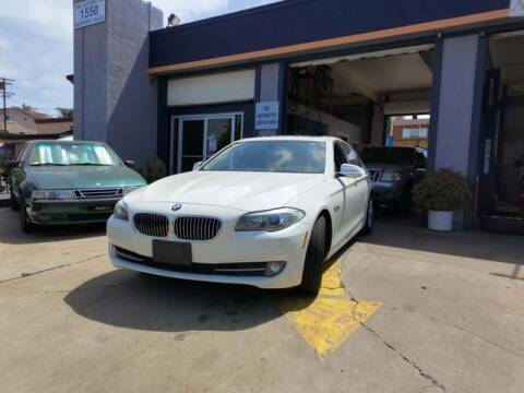2013 BMW 5 Series for sale at DNZ Auto Sales in Costa Mesa CA