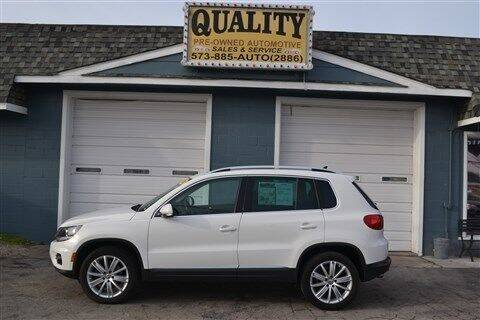 2014 Volkswagen Tiguan for sale at Quality Pre-Owned Automotive in Cuba MO