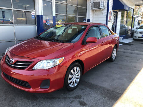 2013 Toyota Corolla for sale at Jack E. Stewart's Northwest Auto Sales, Inc. in Chicago IL