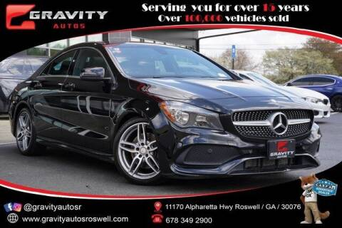 2017 Mercedes-Benz CLA for sale at Gravity Autos Roswell in Roswell GA