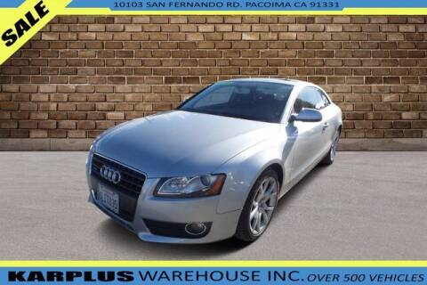 2010 Audi A5 for sale at Karplus Warehouse in Pacoima CA