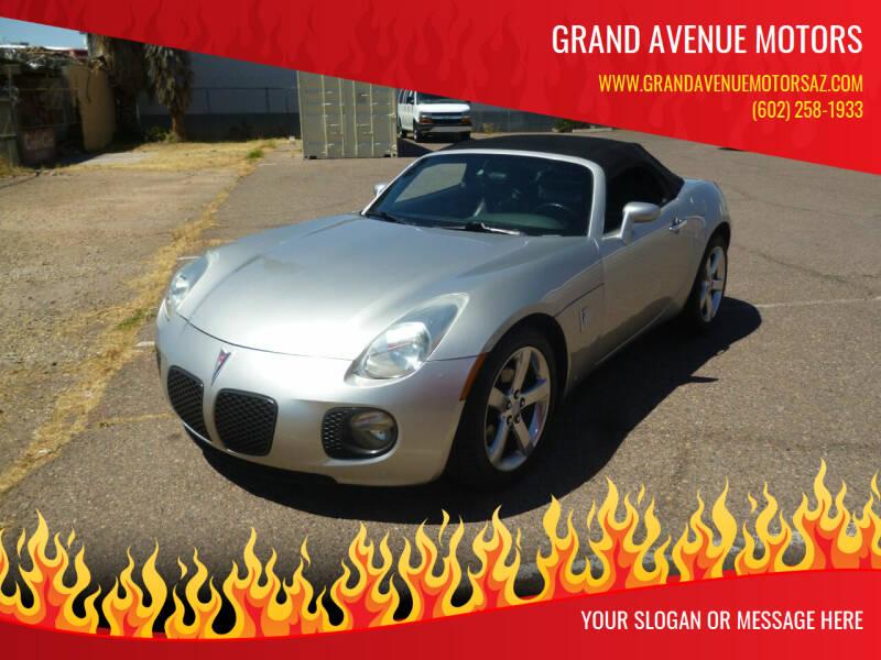 2007 Pontiac Solstice for sale at Grand Avenue Motors in Phoenix AZ