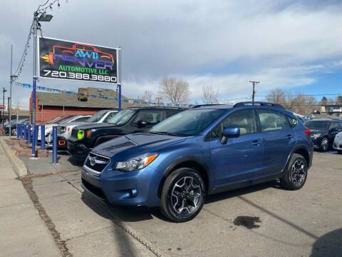 2014 Subaru XV Crosstrek for sale at AWD Denver Automotive LLC in Englewood CO