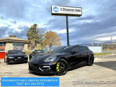 2018 Porsche Panamera for sale at TJ Chapman Auto in Salt Lake City UT