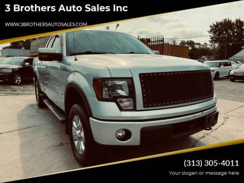 2012 Ford F-150 for sale at 3 Brothers Auto Sales Inc in Detroit MI