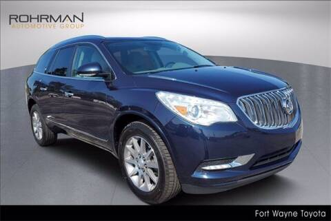 2017 Buick Enclave for sale at BOB ROHRMAN FORT WAYNE TOYOTA in Fort Wayne IN