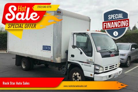 2006 GMC W4500 for sale at Rock Star Auto Sales in Las Vegas NV