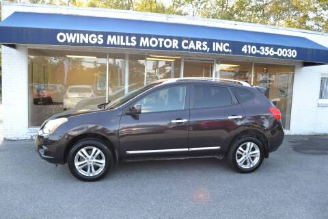 2013 Nissan Rogue for sale at Owings Mills Motor Cars in Owings Mills MD