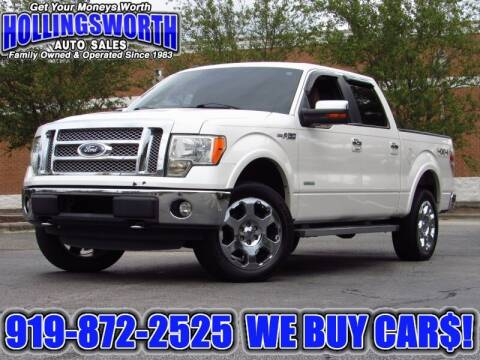2011 Ford F-150 for sale at Hollingsworth Auto Sales in Raleigh NC