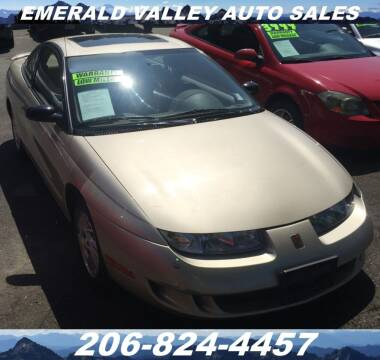 1998 Saturn S-Series for sale at Emerald Valley Auto Sales in Des Moines WA