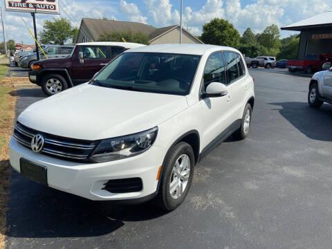 2012 Volkswagen Tiguan for sale at Hoss Sage City Motors, Inc in Monticello IL