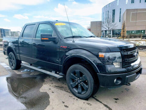 2013 Ford F-150 for sale at J & M PRECISION AUTOMOTIVE, INC in Fort Collins CO