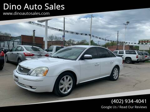 2007 Ford Five Hundred for sale at Dino Auto Sales in Omaha NE