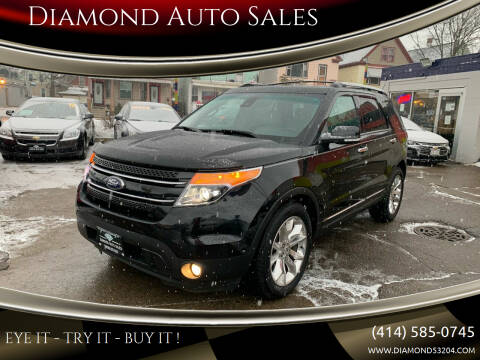 2014 Ford Explorer for sale at Diamond Auto Sales in Milwaukee WI