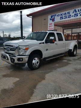 2013 Ford F-350 Super Duty for sale at TEXAS AUTOMOBILE in Houston TX