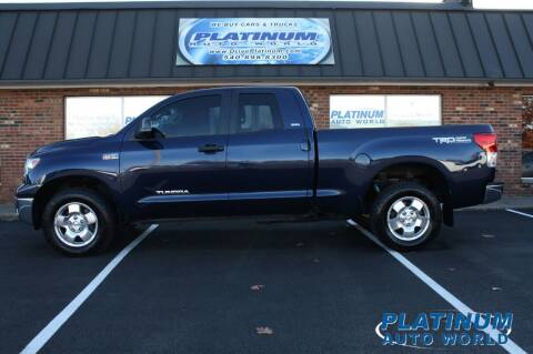 2011 Toyota Tundra for sale at Platinum Auto World in Fredericksburg VA