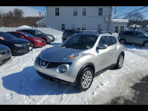2011 Nissan JUKE for sale at Colonial Motors in Mine Hill NJ