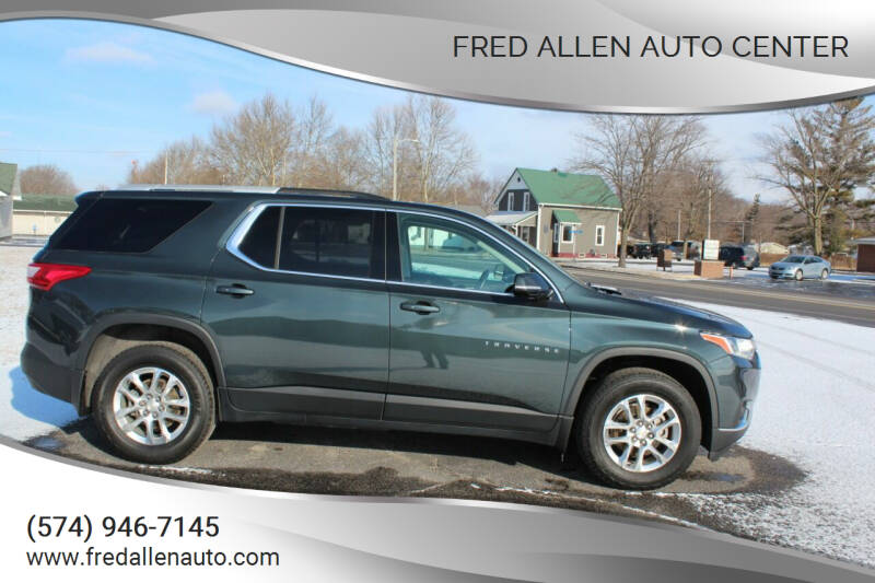 2018 Chevrolet Traverse for sale at Fred Allen Auto Center in Winamac IN